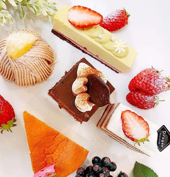 お楽しみケーキセット